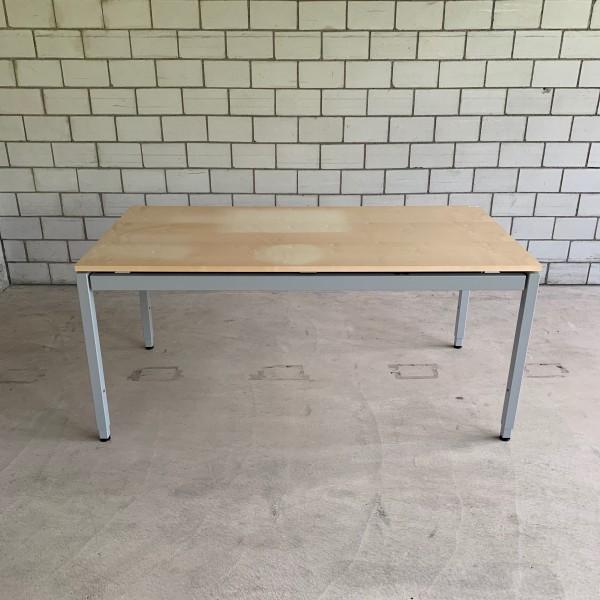 Lista Office LO Tisch Buche manuell höhenverstellbar