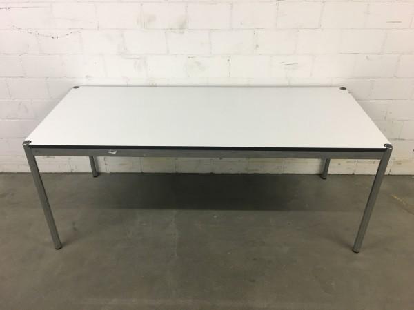 USM Haller Tisch Kunstharz, perlgrau 175/74/75cm (B/H/T)