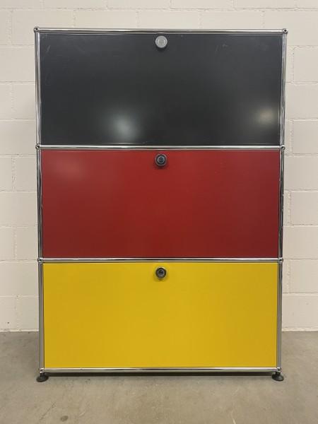 USM Regal auf Füsschen Deutschland farbig (B/H/T) 75/105/35