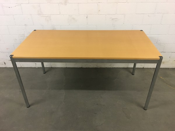 USM Haller Tisch Buche Natur, furniert 150/74/75cm (B/H/T)