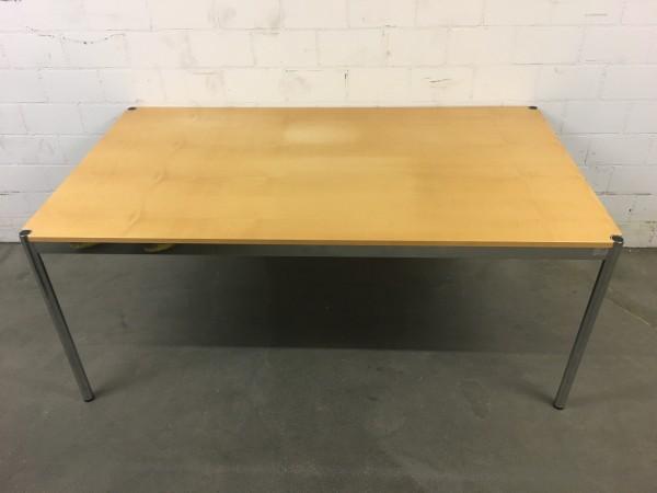 USM Haller Tisch Ahorn gebleicht, furniert 175/74/100cm (B/H/T)